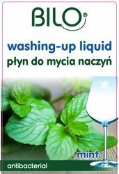 Dishwashing liquid with the scent of mint, canister 5L