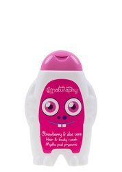 KIDS strawberry shower soap with aloe vera 300 ml