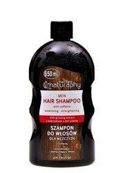 Men's hair shampoo with caffeine 650 ml