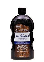 Men's hair shampoo with eucalyptus oil 650 ml
