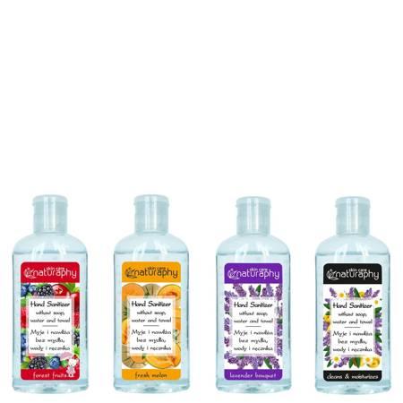 A set of antibacterial hand gels 4x100ml