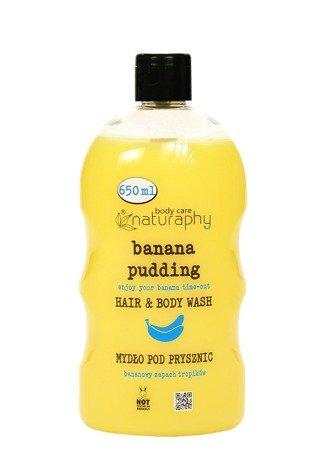 Banana Pudding shower soap Banana Fragrance of Tropics 650 ml