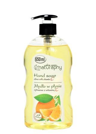Citrus liquid soap with vitamin C 650 ml