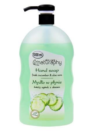 Liquid hand soap with cucumber with aloe 1L