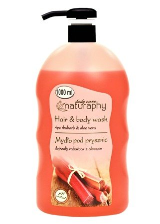 Ripe rhubarb shower soap with aloe vera 1L