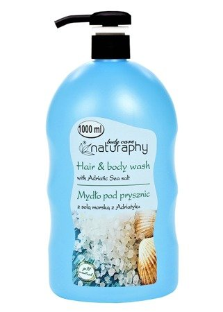 Shower soap with Adriatic sea salt 1L