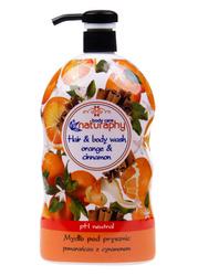 Mydło pod prysznic pomarańcza z cynamonem 1L