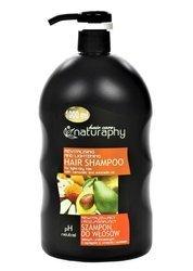 Rewitalizujący i rozjaśniający szampon do włosów jasnych i przesuszonych z wyciągiem z rumianku i awokado 1L