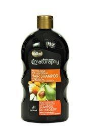 Rewitalizujący i rozjaśniający szampon do włosów jasnych i przesuszonych z wyciągiem z rumianku i awokado 650 ml