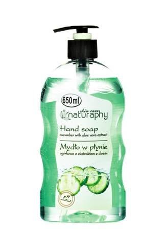 Mydło do rąk w płynie ogórkowe z ekstraktem z aloesu 650 ml