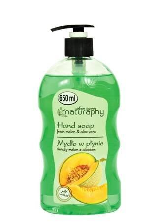 Mydło do rąk w płynie świeży melon z aloesem 650 ml