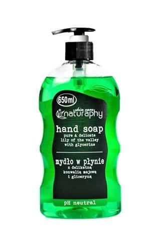 Mydło do rąk w płynie z delikatną konwalią majową i gliceryną 650 ml