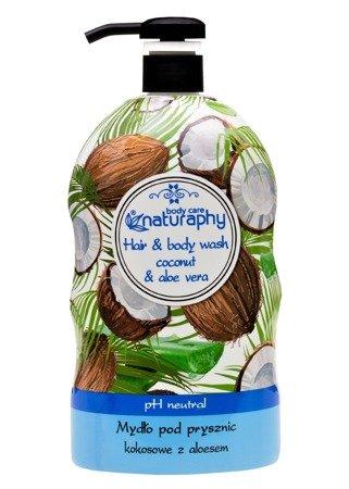 Mydło pod prysznic kokosowe z aloesem 1L