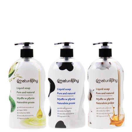 Zestaw mydeł naturalnych ECO 3x 650 ml